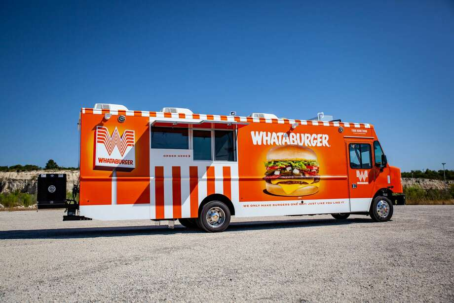 Whataburger unveiled its new food truck Thursday at an educator-appreciation event at the DoSeum and will embark on a multi-state tour in 2021. The truck was introduced amid a big week for Whataburger, which is celebrating its 70th anniversary on Saturday. Photo: Courtesy- Cruising Kitchens
