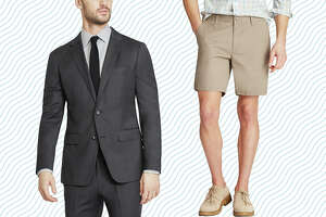 Bonobos' extra 60% off final sale  has full wool suits for as little as $84, chinos for $27 and shorts for just $15.