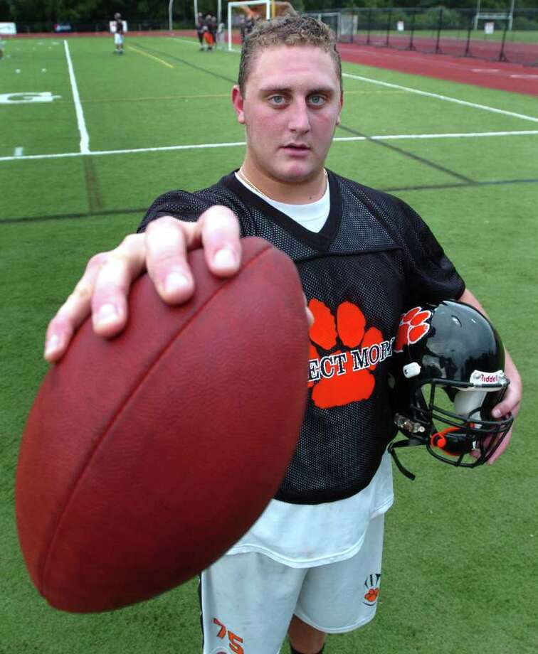 Ridegfield's Tommy Jordan, photographed at practice August 25, 2010. Photo: Chris Ware / The News-Times