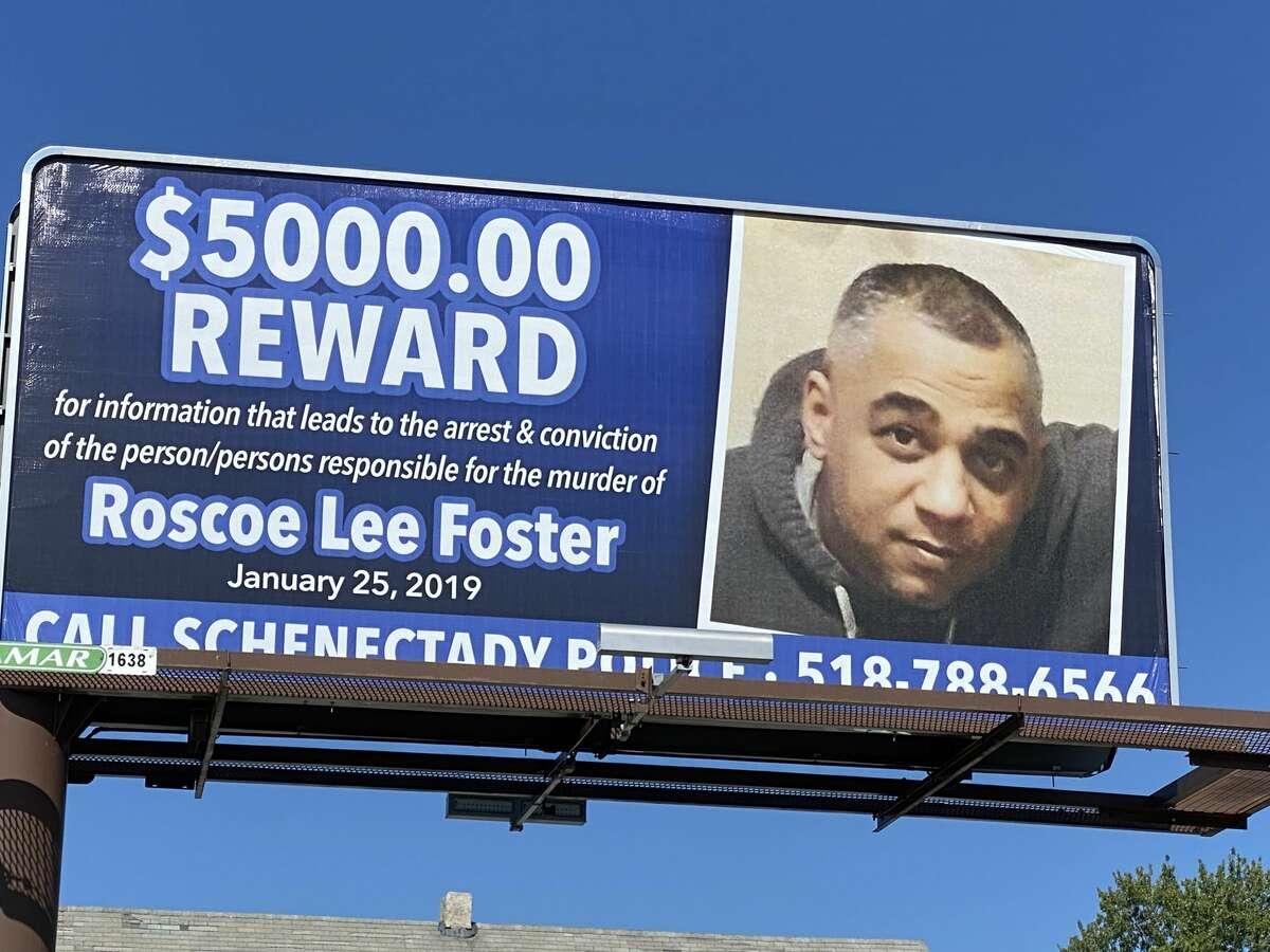 Billboard rises in local cold case.