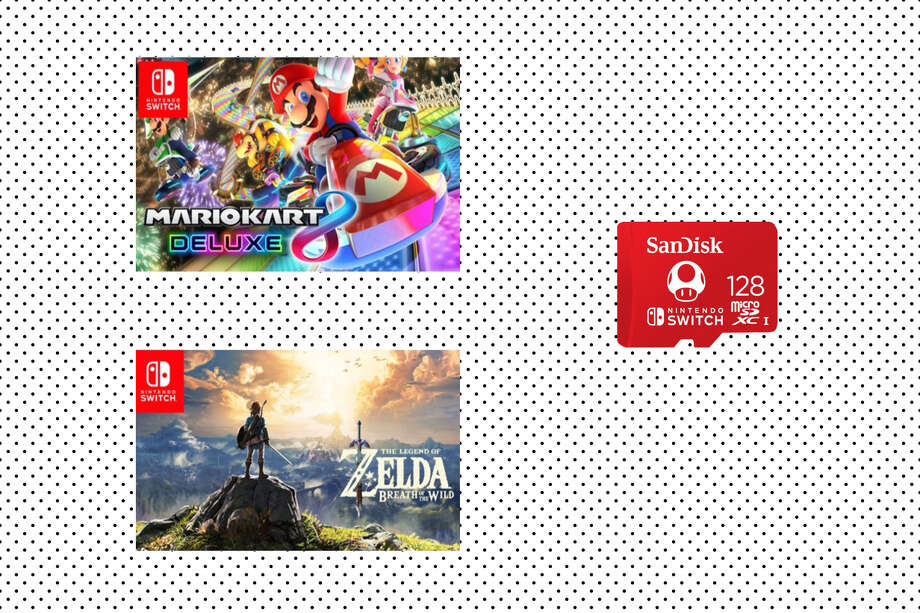 Buy two digital Nintendo Switch games, get a SanDisk memory disk for free – Walmart Photo: Walmart/Hearst Newspaper