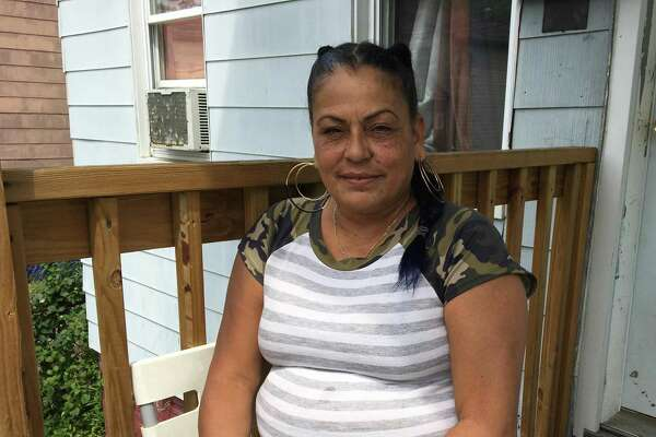 Myriam Rodriguez has been without power since Tuesday and can't use her nebulizer, which helps with her asthma.
