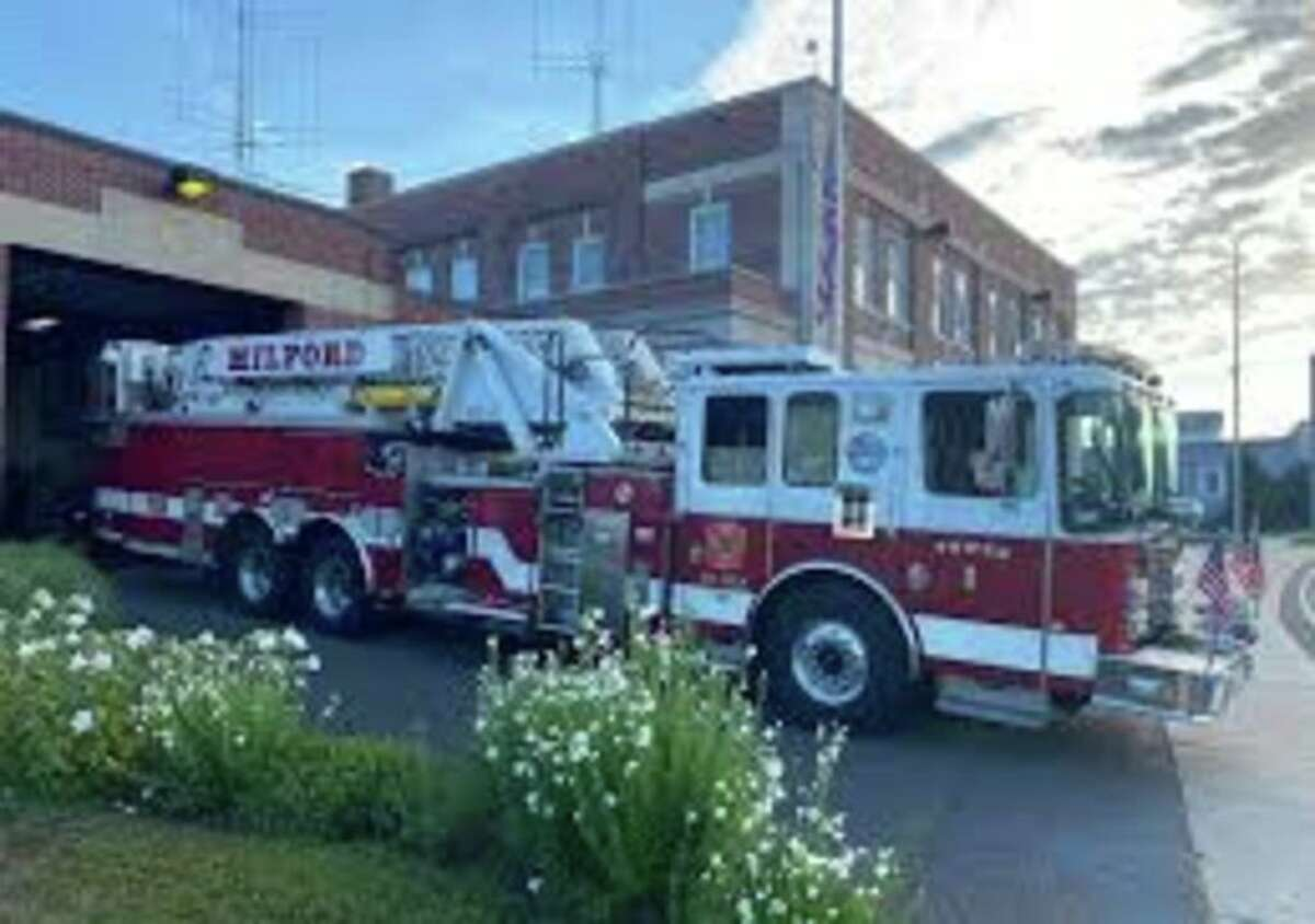 Milford Firefighters responded to 250 emergencies during Tropical Storm Isaias.