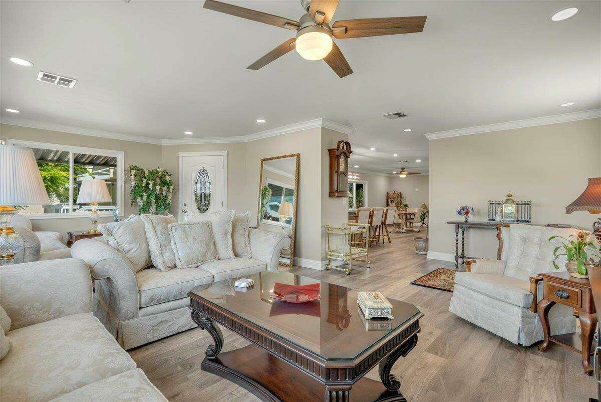 45 Arthur Drive. Santa Rosa, CA PRICE: $195,000 DESCRIPTION: Built in 2017, this new home, in a senior community (55+) is ready for its' first owners. With Crown molding & natural light throughout the home, a large kitchen island, separate laundry room & spacious Master. ALL in the heart of Sonoma County. Step into a spacious NEW manufactured home with a communal pool & quiet neighborhood. Leave the potential fixer and just bring your house plants & furniture to make this NEW build feel like home! SIZE: 1210 square feet BEDROOMS: 3 MLS ID: 22014099 AGENT: Kristi Taylor BROKERAGE: Coldwell Banker Realty Photos and listing copyright 2020 by Coldwell Banker Realty and associated MLS.