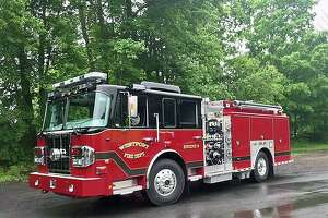A file photo of a Westport, Conn., fire engine.