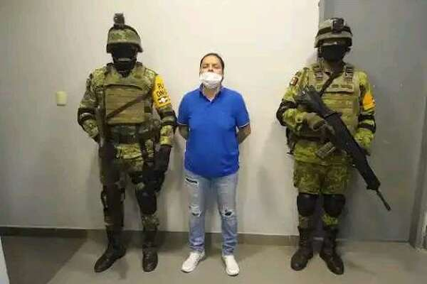 "Mexican authorities arrested Edén Guadalupe Villarreal Gómez, a high-ranking leader and hitmen recruiter of the Cartel Del Noreste in Nuevo Laredo, on Tuesday. She is also known as ""La Teniente."""