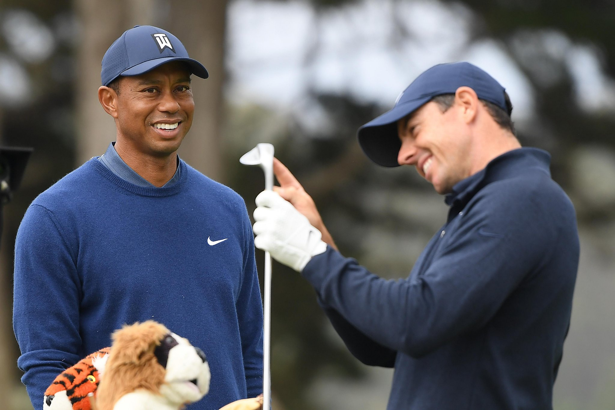 Tiger Woods talking baseball: 'That's how much we hate the Giants'