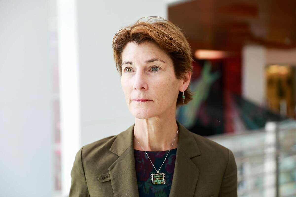 CEO Susan Ehrlich stands for a portrait at San Francisco General Hospital in San Francisco, California, on Thursday, Jan. 31, 2019.