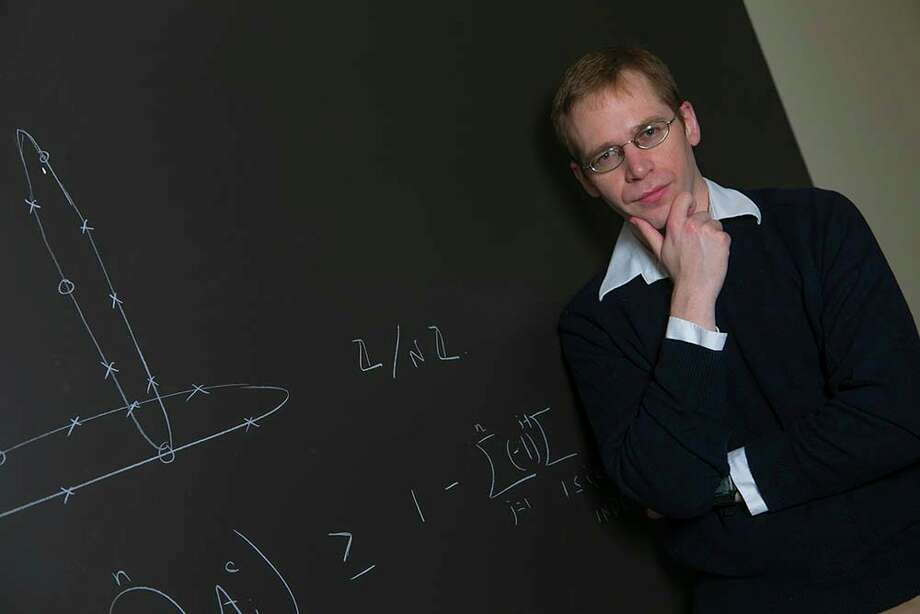 Stony Brook University Department of Math Professor Bob Hough has been awarded the 2017 David P. Robbins Prize from the MAA for his work on the minimum modulus problem for covering systems. (Photo provided)
