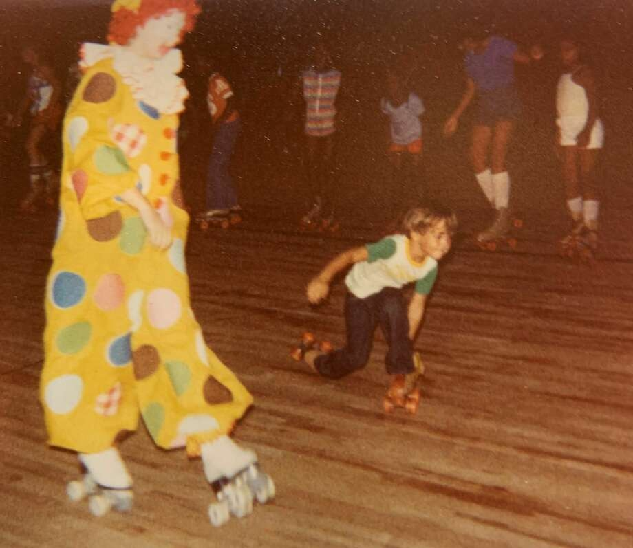 Starlight Skating Rink was the spot to be in Alief. That's me in the 1980s. No, not the clown. Photo: Matt Young