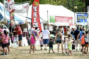 A scene from the East Haven Fall Festival in 2016.