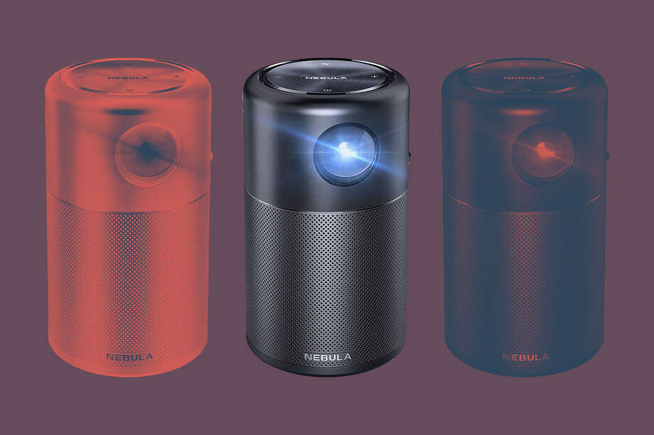 Anker Nebula Capsule Smart Wi-Fi Mini Projector Photo: Amazon/Hearst Newspapers / Rainer Grosskopf