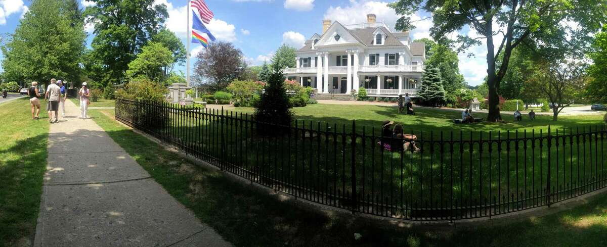 Lounsbury House in Ridgefield, seen here, is where Chelsea Starbuck Smith, Julia Choi, Molly Goldman and Mitchell Lyon will appear in a chamber music concert Aug. 12. The concert is presented by the Charles Ives Music Festival.