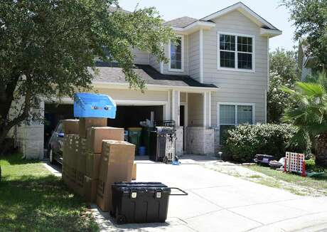 This is the house in north San Antonio where investigators found the bodies Jared and Sheryll Harless and their four children. Police believe the couple committed suicide after killing the children.