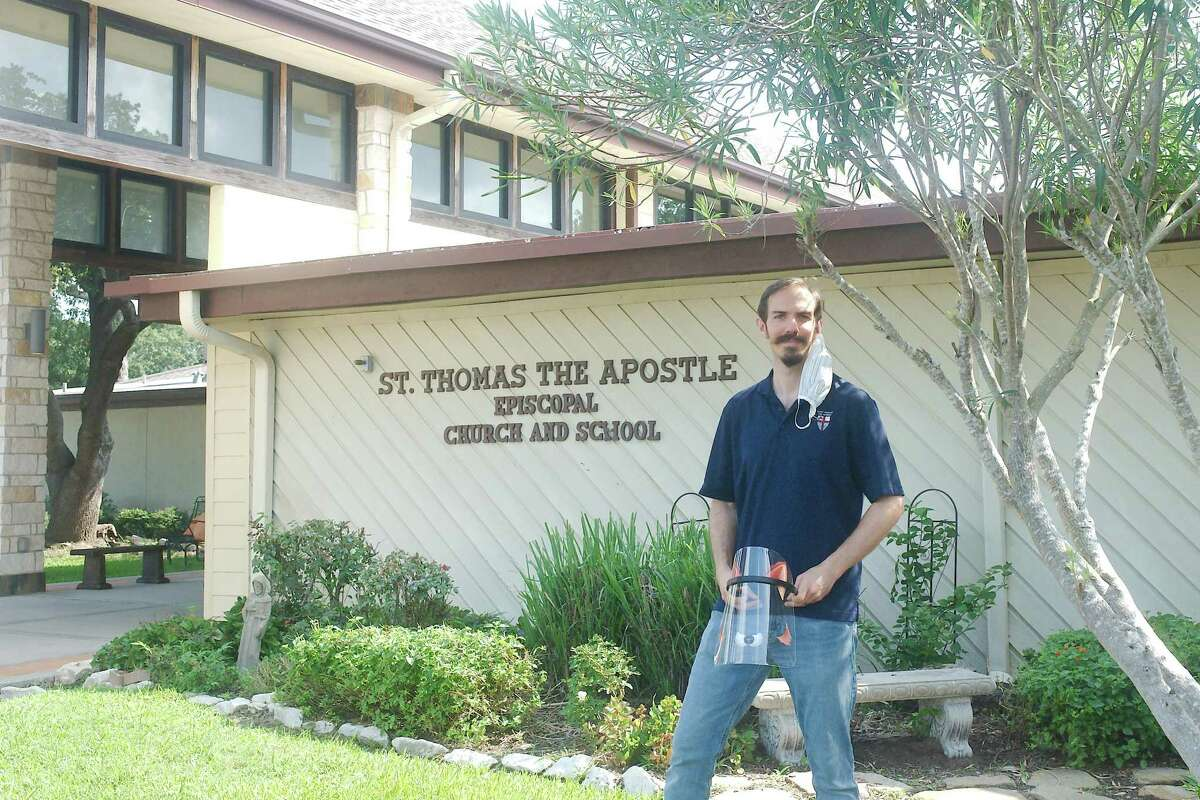 St. Thomas the Apostle Episcopal School Headmaster Colin O'Neal believes his small private school can function with its own customized precautions and curriculum. About 10 percent of students will study virtually, and the rest will attend classes on campus.