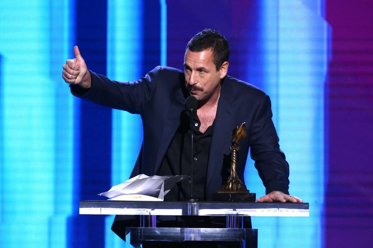Count Adam Sandler among the fans of Harry's Restaurant and Cafe at 318 Tuam St. Pictured:Adam Sandler accepts the Best Male Lead award for 'Uncut Gems' onstage during the 2020 Film Independent Spirit Awards on February 08, 2020 in Santa Monica, California.