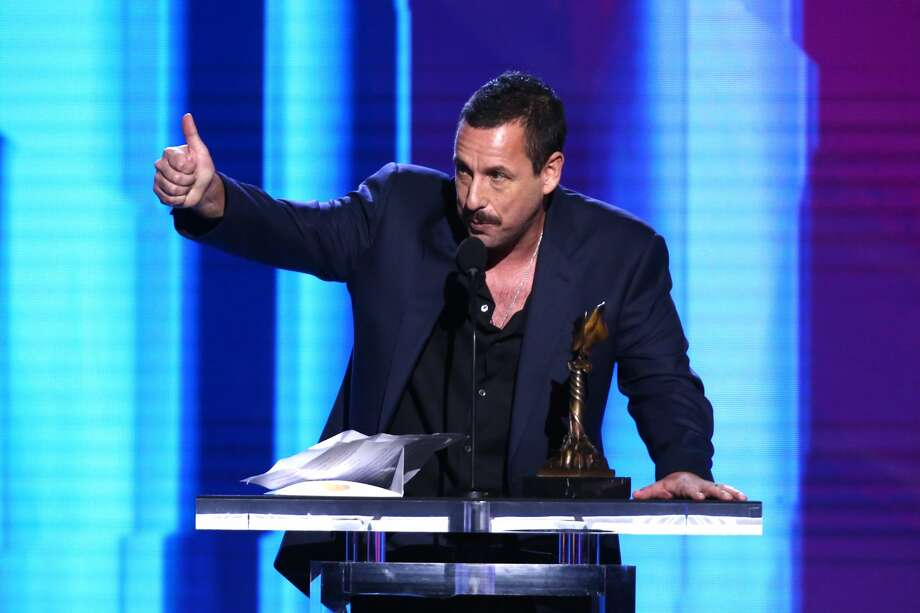 Count Adam Sandler among the fans of Harry's Restaurant and Cafe at 318 Tuam St. Pictured:Adam Sandler accepts the Best Male Lead award for 'Uncut Gems' onstage during the 2020 Film Independent Spirit Awards on February 08, 2020 in Santa Monica, California. Photo: Tommaso Boddi/Getty Images / 2020 Getty Images