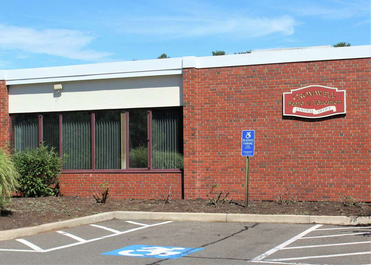 The Cromwell Board of Education is located at 9 Mann Memorial Drive.