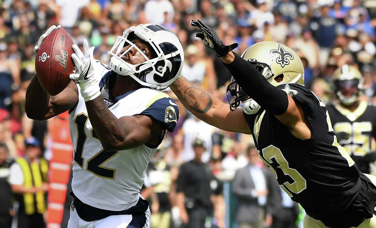 Brandin Cooks was limited to 42 catches last season with the Rams but is excited about his opportunity with the Texans and quarterback Deshaun Watson.