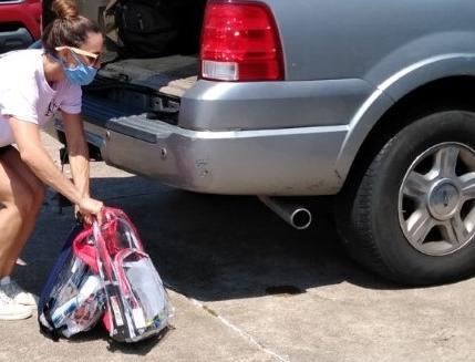 Local nonprofit organizations providing supplies as families prepare for school