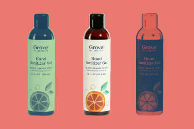 Hydrating Gel Hand Sanitizer - Large,GROVE COLLABORATIVE