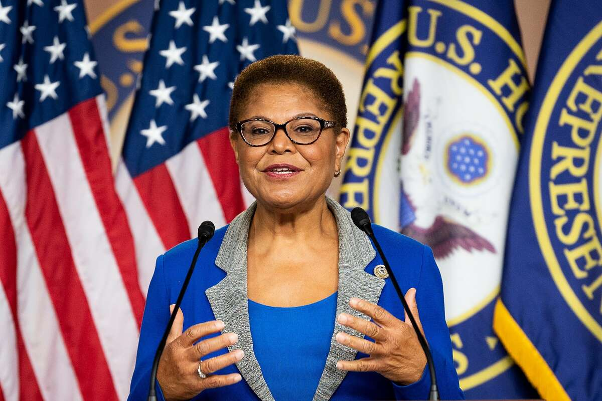 Rep. Karen Bass of Los Angeles is a former California Assembly speaker.