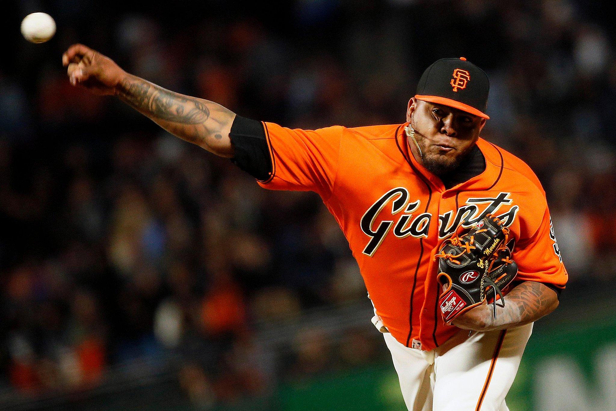 Giants' Reyes Moronta reports to Sacramento, could join bullpen this season