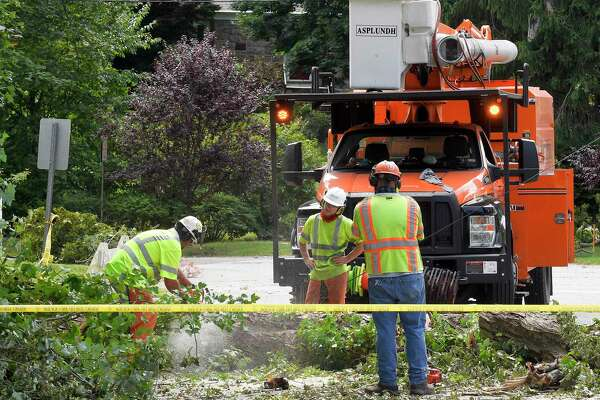 The Root Of The Problem In Stamford Residents Wait For Trees To Be Removed So Lights Can Go Back On Ctinsider Com