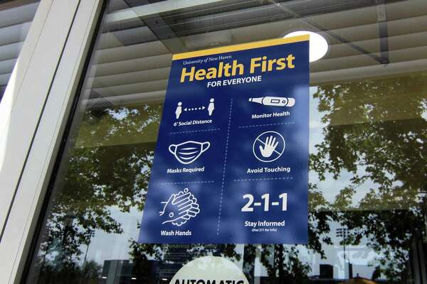 The University of New Haven is prepared to receive thousands of students in the midst of the coronavirus pandemic.