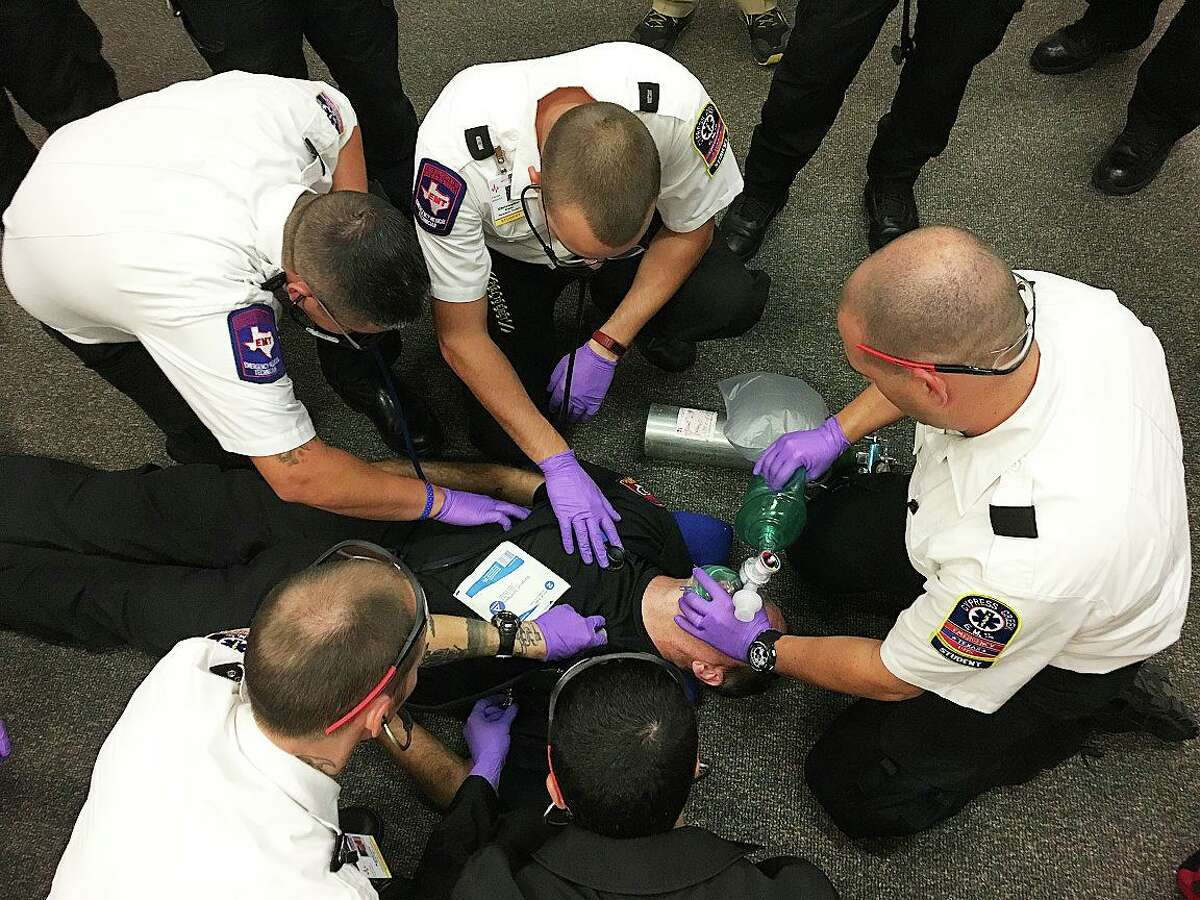 Paramedic continuing education classes are offered at the facility regularly to hone the skills of responding personnel to 9-1-1 calls.