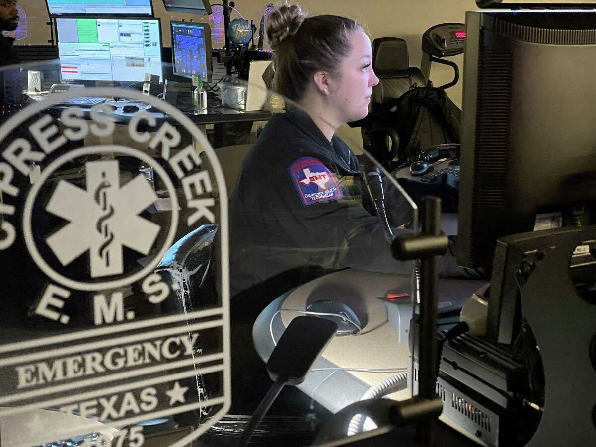 The Cypress Creek Communications Center (Comm Center) is a 9-1-1 and dispatch facility for 17 emergency agencies including 12 fire departments, the Harris County Fire Marshal's Office, and the Harris County Hazardous Materials Team.