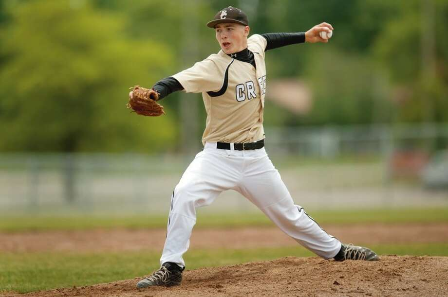Bullock Creek's Keegan Akin pitches during an undated 2013 game. Photo: Daily News File Photo