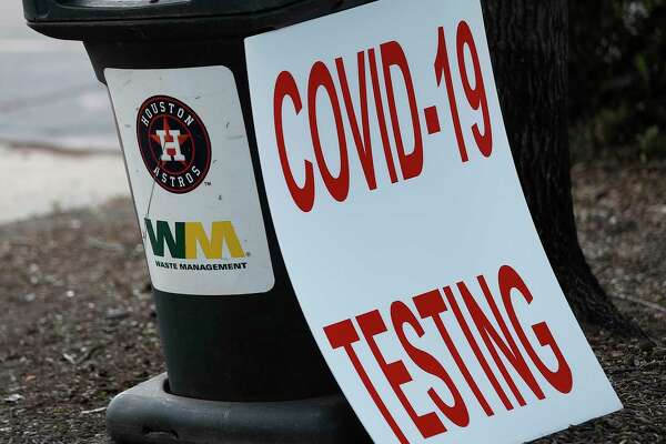 The Houston Astros have opened up a Covid-19 testing site in parking Lot C, Saturday, August 8, 2020, in Houston. Located near Minute Maid Park, the testing site is capable of 2,000 tests a day. Testing will run 8 a.m. to 4 p.m., with eight drive-thru lanes and four walk-up lanes.