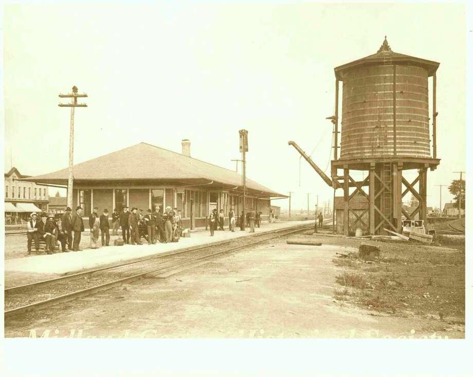 Coleman train depot. (Photo provided)