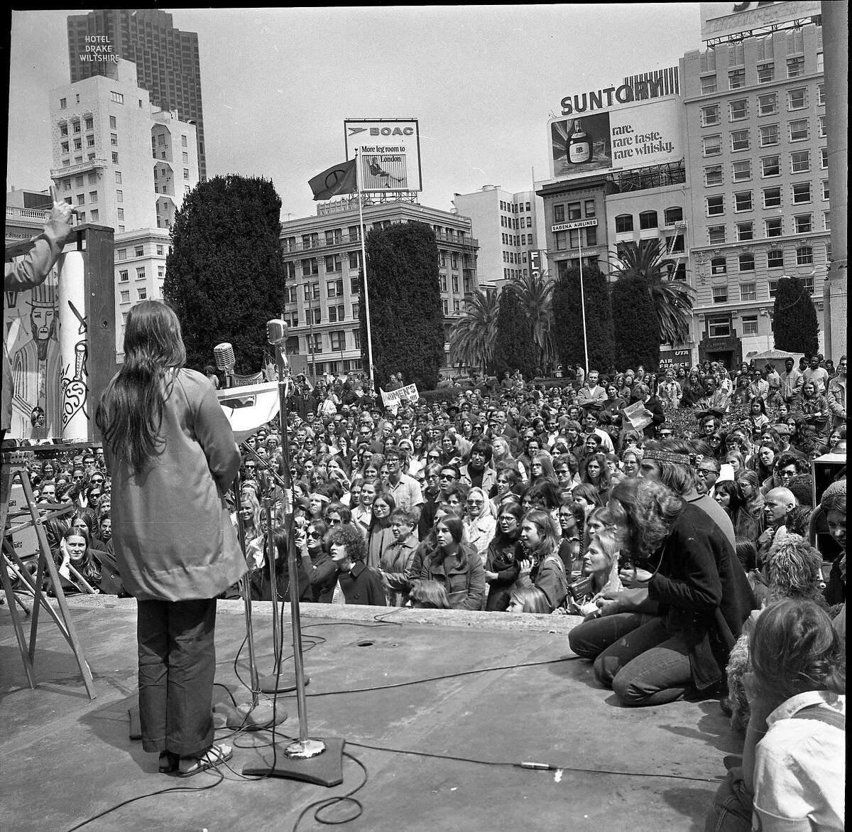 Women's Liberation rally at Union Square, September 1970