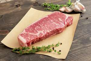 Landry's Inc. has launched Landry's Kitchen (LandrysKitchen.com), a new home delivery service offering the same steaks and seafood that the hospitality giant uses in its restaurant. Shown: Certified Angus Beef New York strip steak.