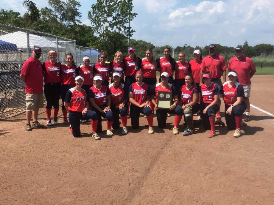 The Stratford Brakettes won the Women's Major Softball National Championship for the third year in a row on Sunday. Photo: Contributed Photo