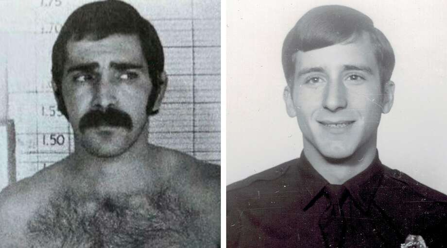 In an undated image provided via Daril Cinquanta, Luis Archuleta, left, who shot Daril Cinquanta, right, in 1971 when Cinquanta was a rookie police officer in Denver. Cinquanta tracked down Archuleta — who had been living under an alias in New Mexico for decades — almost 50 years after Archuleta shot him. (via Daril Cinquanta via The New York Times) -- NO SALES; FOR EDITORIAL USE ONLY WITH NYT STORY LONGTIME FUGITIVE CAUGHT BY ALLYSON WALLER FOR AUG. 9, 2020. ALL OTHER USE PROHIBITED. -- Photo: Via Daril Cinquanta, NYT