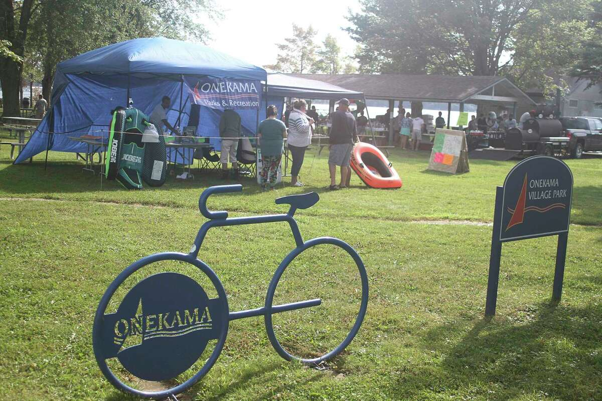 File - Several events held in Village Park for Onekama Days. (Dylan Savela/News Advocate)