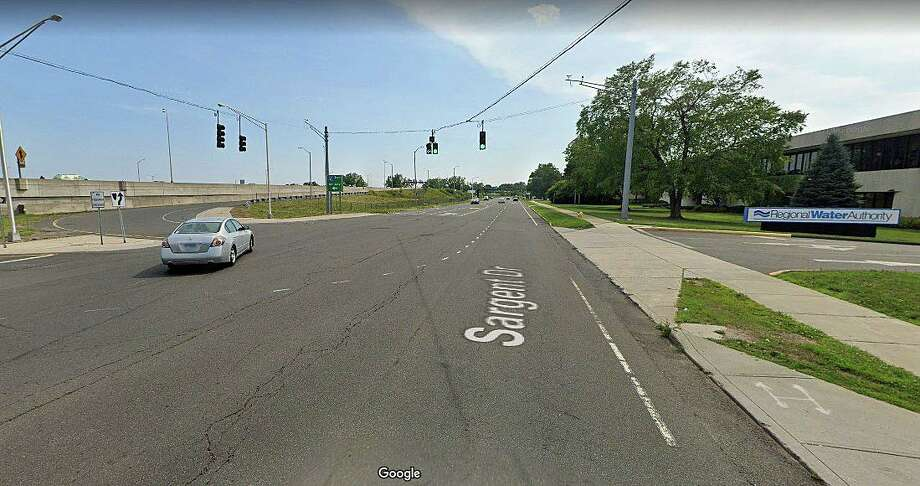 A 31-year old East Haven motorcyclist has life-threatening injuries after a collision with an SUV at an I-95 southbound entrance ramp on Sunday, Aug. 9, 2020. Capt. Anthony Duff said the two-vehicle crash happened around 7 p.m. near 90 Sargent Drive in New Haven. Photo: Google Street View Image
