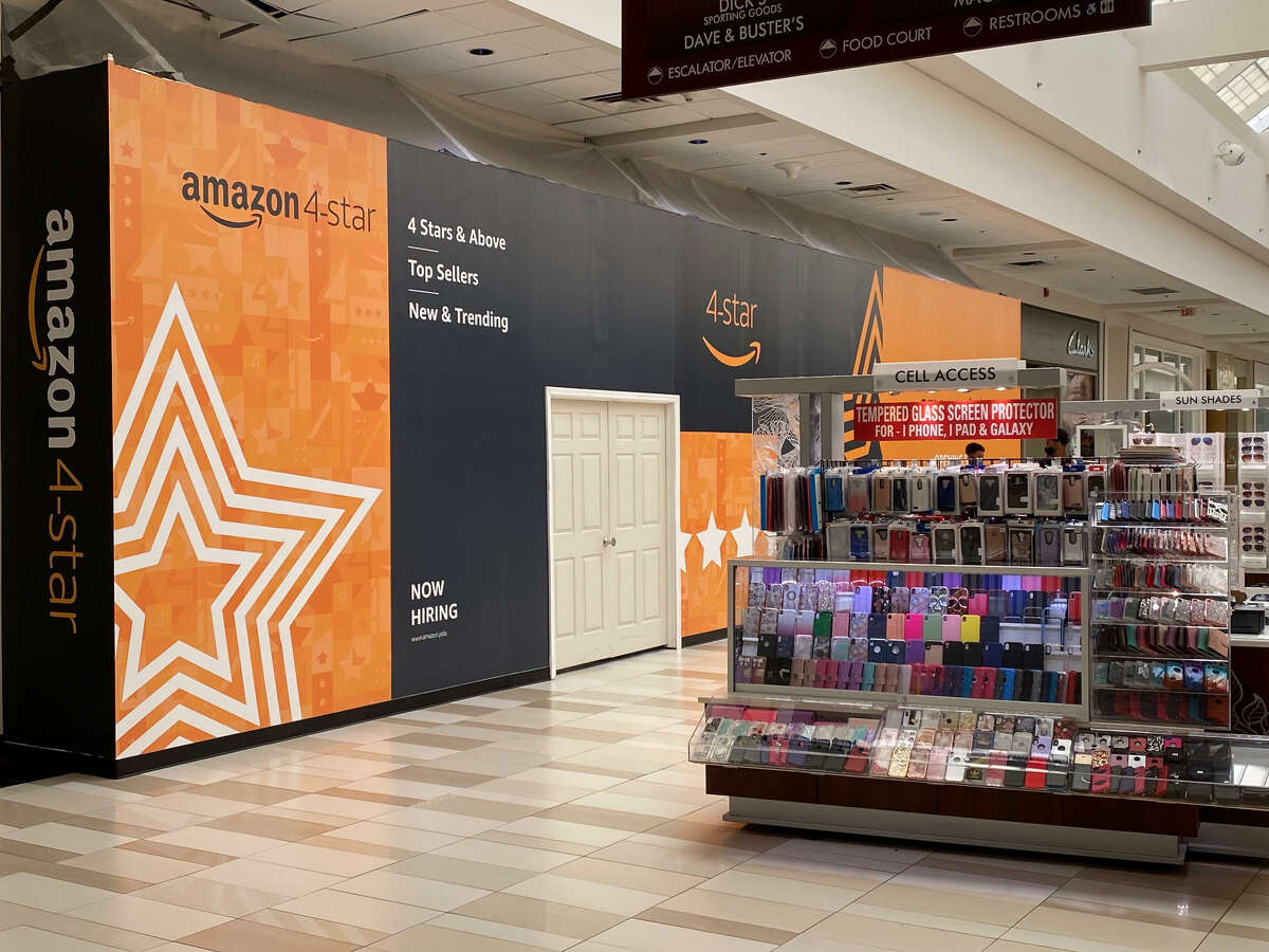 The site of the Amazon 4-Star store at Crossgates Mall