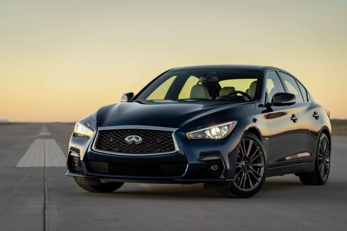 The 2020 Infiniti Q50 is known for a smooth and quiet ride.