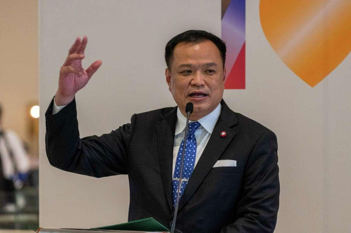 Thail Deputy Prime Minister and Health Minister Anutin Charnvirakul.