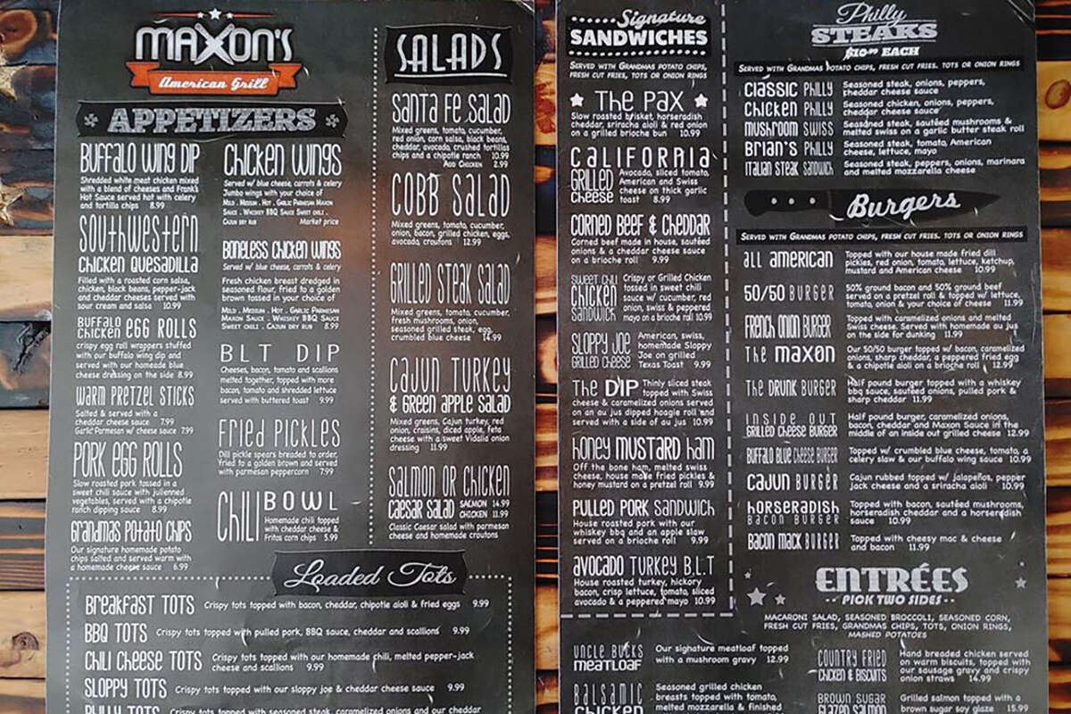 Maxon's American Grill