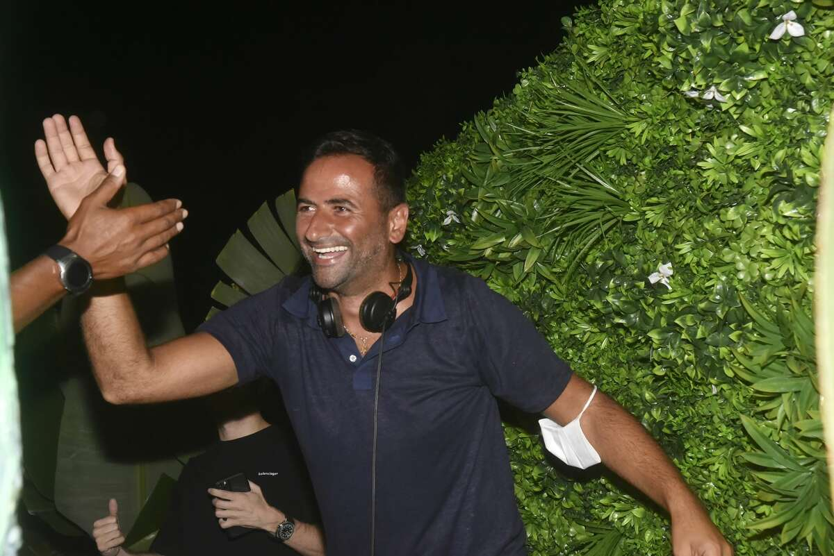 DJ Milan from Miami attends the VIP Room Saint Tropez Gioia Restaurant Party of August 5, in Saint Tropez France.