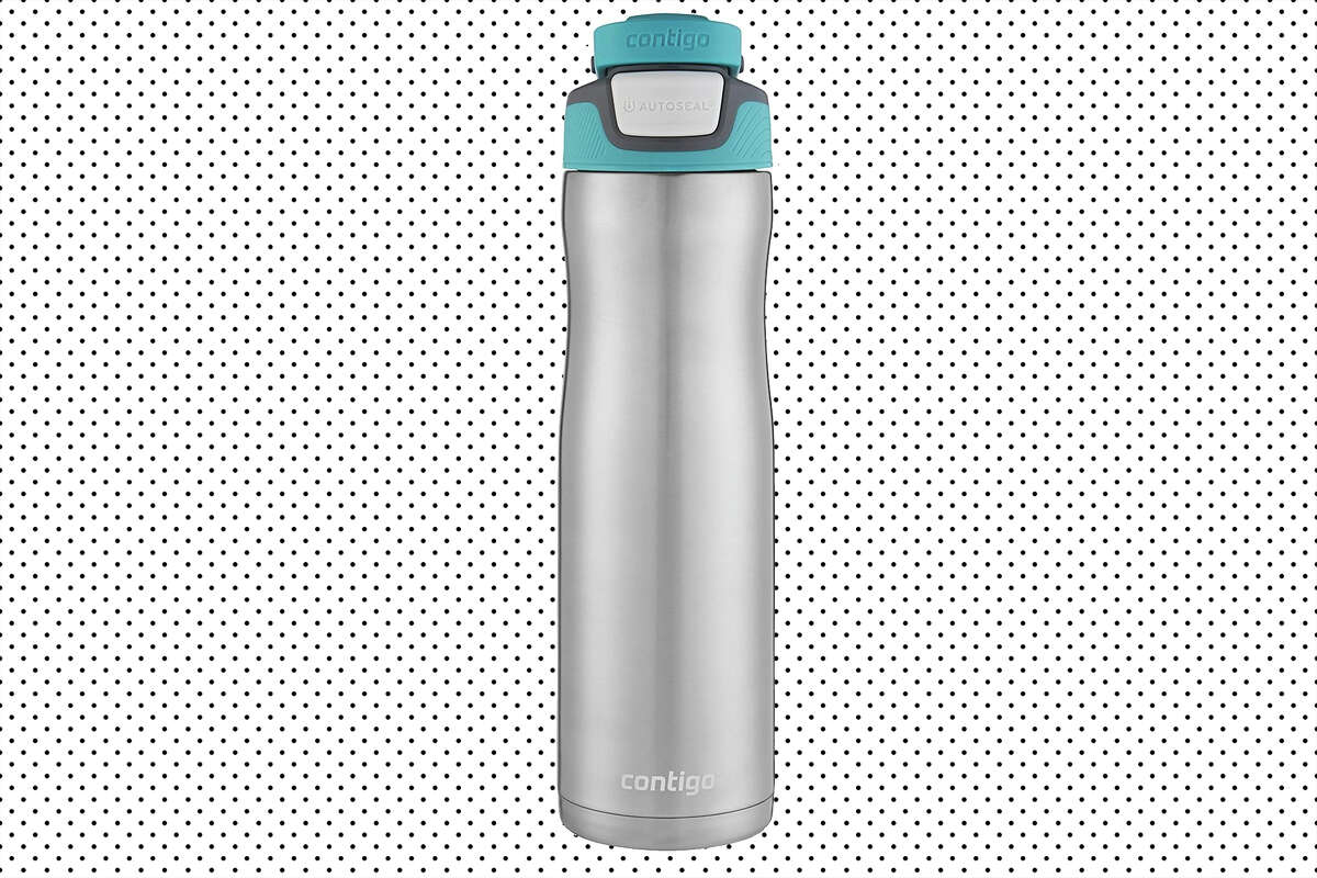 Contigo AUTOSEAL Chill Stainless Steel Water Bottle, 24 oz. for $11.97 at Amazon