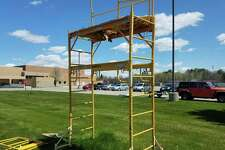 Pictured is the former Morley Stanwood band director tower. The band will soonbuild a 20-foot permanent structure in its place. (Courtesy photo)