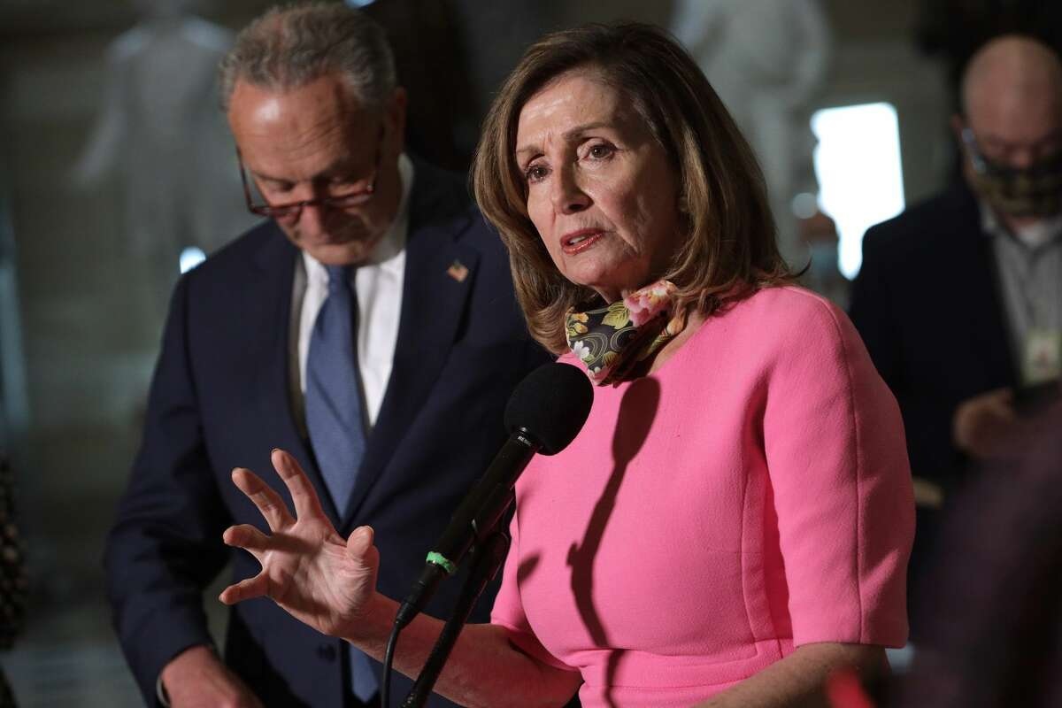 Nancy Pelosi Is Taking No Mess From Mark Meadows: The White House chief of staff, along with Treasury Secretary Steven Mnuchin, are lightweights across the table.
