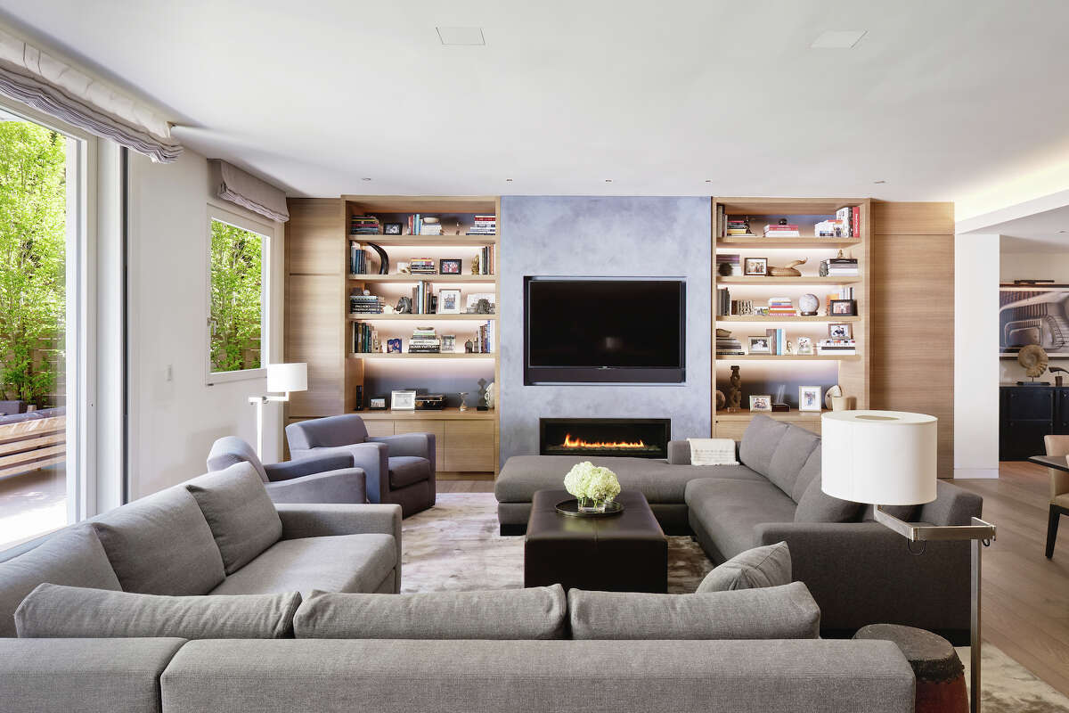 The home was designed with indoor/outdoor living in mind, with a sliding window system off the family room.