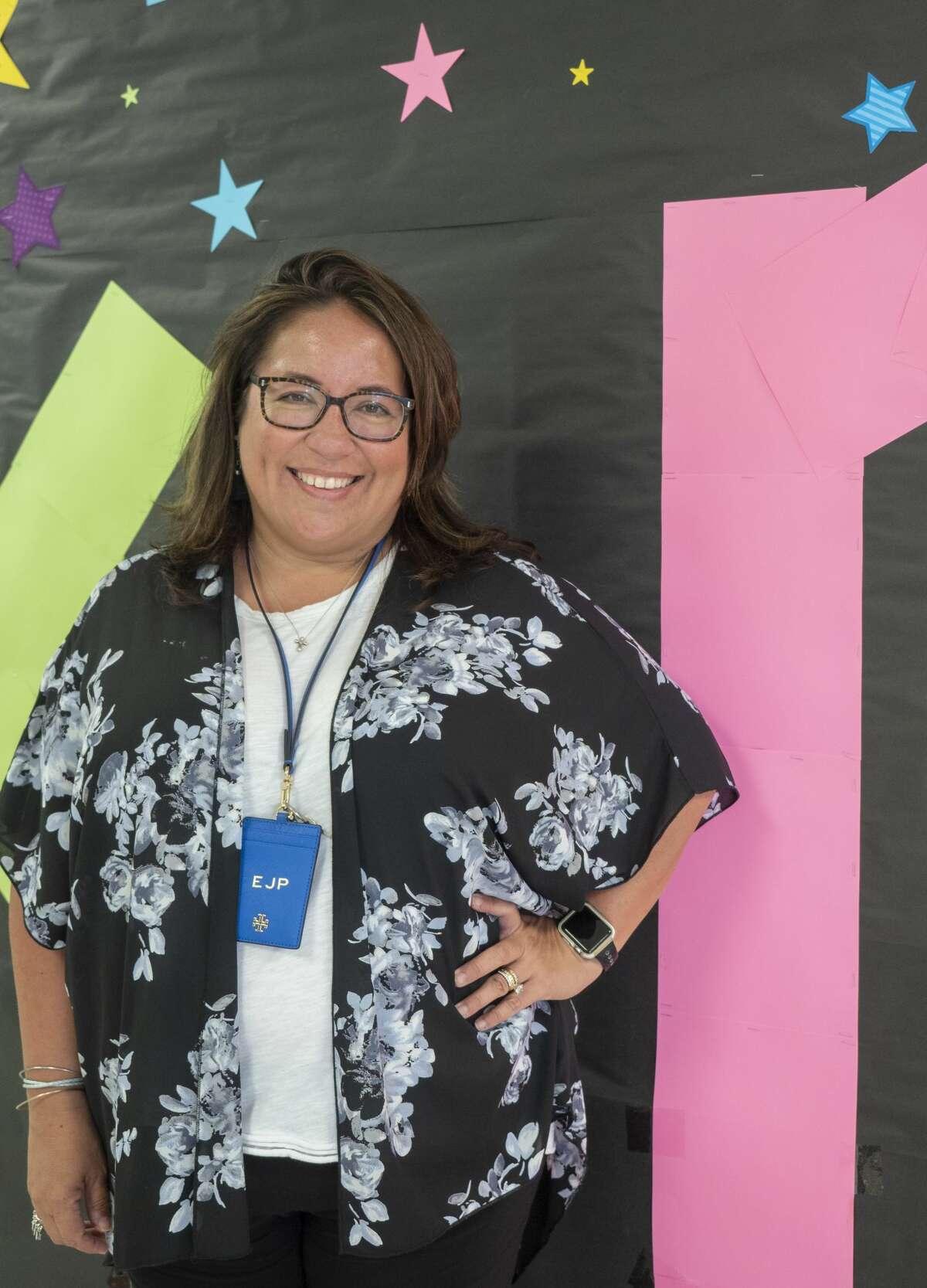 Emily Patton, Fannin Elementary counselor. 08/10/2020 Tim Fischer/Reporter-Telegram